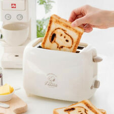 Peanuts Snoopy Toaster 2 Slice, Compact Bread Toasters with 7 Browning Settings