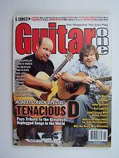 Guitar One Magazine October 2002 Acoustic Rock Special Tenacious D Jack Black