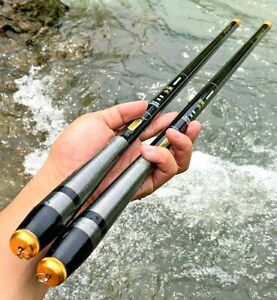 Spinning Fishing Rod Telescopic Carbon Fiber Super Hard Portable High Quality S