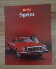 1975 GMC Sprint Sport Truck Color Sales Brochure - MINT New Old Stock