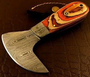 Handmade Damascus Steel Leather Cutter-Leather Cutter Tool-LC224
