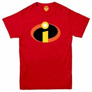 THE INCREDIBLES Tshirt Tee Top Cosplay Costume Film Movie Superhero Disney Pixar