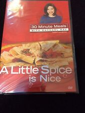 Rachael Ray 30 Minute Meals DVD A Little Spice Is Nice Sealed New Fast Free Ship
