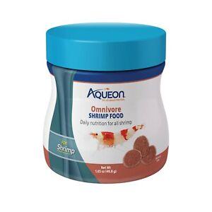 Aqueon Omnivore Shrimp Food Discs 1.5oz