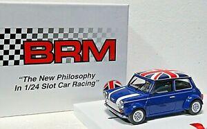 BRM 096B MINI COOPER (Blue Union Jack Flag) 1:24 New