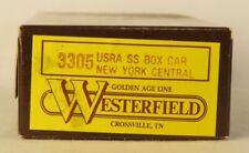 Westerfield HO USRA SS Box Car New York Central 3305 Craftsman Resin Kit