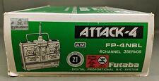 Futaba ~ Attack-4 Digital Proportional Radio Control System FP-4NBL 72MHz *NOS*