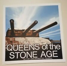 Queens Of The Stone Age screenprinted show poster print Crosshair Design concert