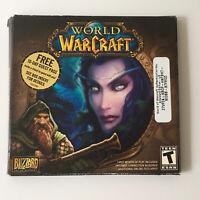 Blizzard Entertainment World of Warcraft PC Game Original Box 5 Disc Plus Key