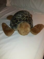 """Fiesta Brand Sea Turtle Plush 12"""" Plush Stuffed Animal Toy EUC"""