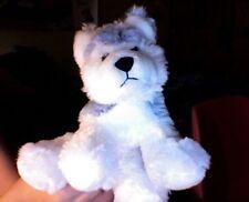 "GANZ Webkinz Husky HS120 11"" Plush Stuffed Animal Dog Puppy Gray White Retired"