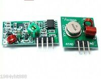 5 sets 433Mhz RF Wireless Transmitter  +  Receiver Link Kit Module for Arduino