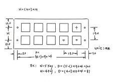 1pc White Keyboard 5x3 3x5 15 keys Metal Panel SPST Machine Pushbutton Switch