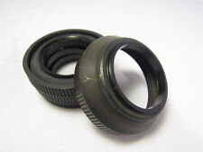 vintage Generic Rubber Lens Hood 52mm screwin type for 50mm (Sold Separately)