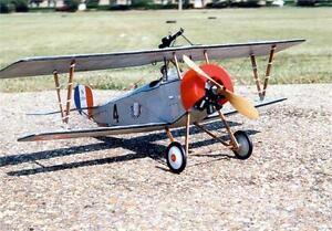 GUILLOWS  NIEUPORT II Laser Cut 24'  GUI203