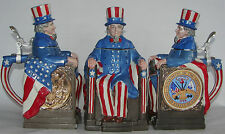 U. S. Army Uncle Sam character beer stein