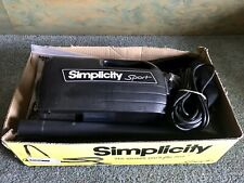 Simplicity Sport Handheld Vacuum Cleaner S100 &Wand, Hose, Attachments, New Bags