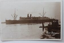 27419 Foto AK Schiff Dampfer Vapor Esperanza  um 1918 PC ship stemaer