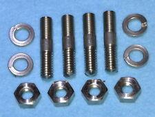"""BSA Sump Filter Plate Stainless Steel Studs Standard Length 7/8"""" long"""