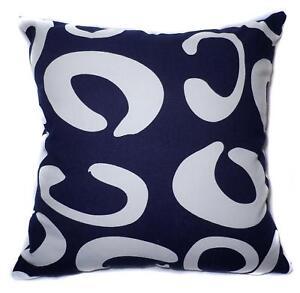 Pillow Cover*Geometry Cotton Canvas Sofa Seat Pad Cushion Case Custom Size*AL6