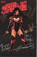 George Perez's SIRENS #1 Super-signed Collector's Paradise Variant Cover