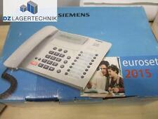 Siemens Telefon euroset 2015 analog Kabel Festnetztelefon Kabeltelefon DEFEKT