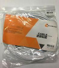 "bike DERAILLEUR CABLE w// standard CASING HOUSING univ WHITE 75x70/"" bicycle D360W"