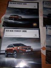 Prospekte Peugeot 3008 inl. Preisliste von 2016