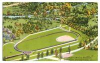 1957 Aerial View of Smethport McCoy Stadium, Smethport, PA Postcard