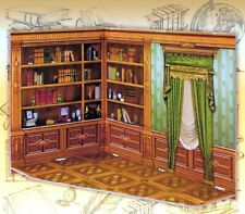 1/12 Room Box for Dolls Cabinet Furnishing Dollhouse Miniature 3D Puzzles Toys