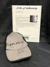 TIGER WOODS SIGNED BUICK HAT MASTERS US OPEN PGA CHAMPIONSHIP PSA/DNA AD09028