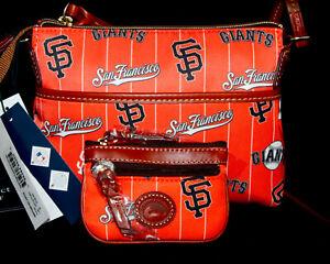 NWT $218 DOONEY & BOURKE San Francisco Giants Ginger Crossbody & Coin Case