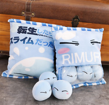 Tensei Shitara Slime Datta Ken Rimuru Tempest Plush Pillow Cute Stuffed Doll