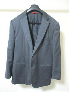 ISAIA Napoli Gray Aquaspider Wool 2 Button Blazer Jacket - Size 46 R