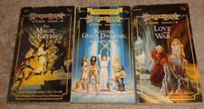 VINTAGE TSR DRAGON LANCE TALES 3 BOOK SET, VOLUMES 1, 2, 3, D&D