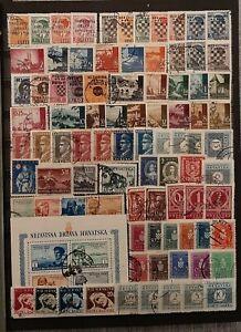 CROATIA (3302) Nice Small Collection (Used)