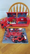 Lego VELOCIDAD CAMPEONES 75913: los corredores Scuderia Ferrari Truck