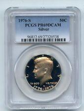 1976 S 50C Silver Kennedy Half Dollar Proof PCGS PR69DCAM
