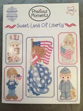 Designs Gloria & Pat Cross Stitch Pattern Precious Moments Sweet Land Of Liberty