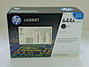 Genuine HP Laserjet 644A black toner print cartridge, boxed and sealed