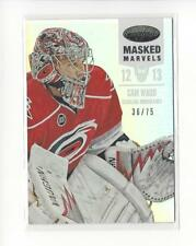 2012-13 Certified Mirror Hot Box #118 Cam Ward Hurricanes /75