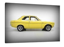 1973 Ford Escort Mk1 RS Mexico - 30x20 Inch Canvas Art - Framed Picture Print