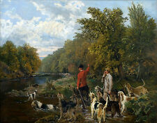Noble Sangent John Otter Hunt On The Lowther Print 11 x 14 #3235