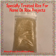 Specially Treated Rice For Name On Rice Projects Refill Diy 1 Ounce Bag