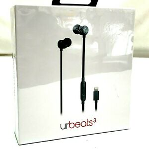 Beats by Dr Dre urBeats3 In-Ear Earphones with Lightning Connector Black