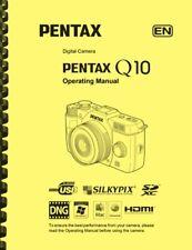 Pentax Q10 Digital Camera OWNER'S OPERATING MANUAL