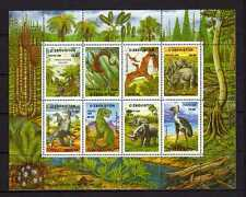 15713) UZBEKISTAN 1999 MNH** Nuovi** S/S Prehistoric Animals