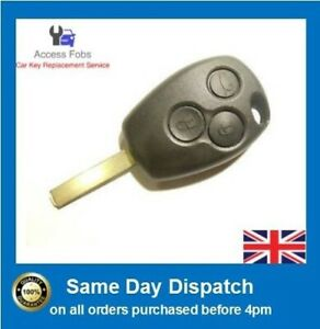 Remote key for Renault Clio Trafic Master Modus Kangoo 3 button PCF7937 433(R08)