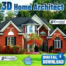 3D Home Design Architect Software Home Kitchen Bed Bath Remodel Mac Download