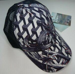 Ted Baker BASEBALL CAP / Hat Small/Medium Navy Print RRP £35.00